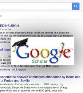 پژوهشگر گوگل Google Scholar ISIC