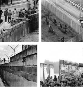 تصاویری از دیوار برلین