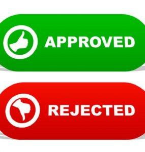 رد و یا پذیرش مقالات isi